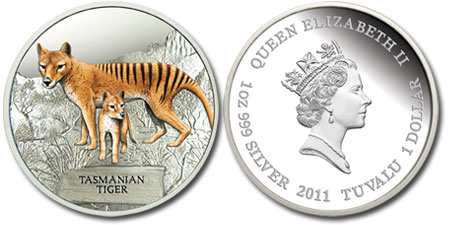 Tasmanian Tiger Silver Proof