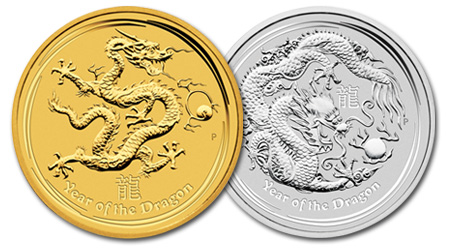 2012 1oz Lunar Dragons Sold Out