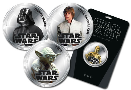 Star Wars Base Metal Coins