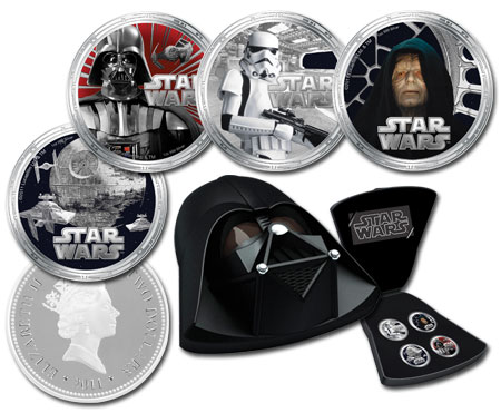 Darth Vader Silver Proof Collection