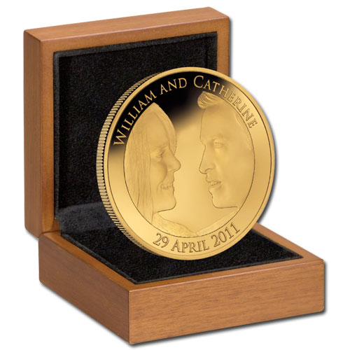 2011 Royal Wedding Gold Proof