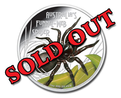 Deadly and Dangerous Funnel Web - Sold Out