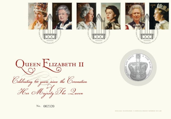 GB 2013 £5 Coronation PNC