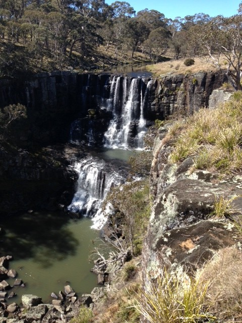 Day 8 - Lunch at Ebor Falls