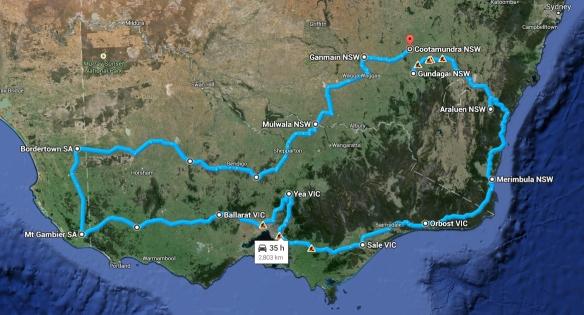 KKR Map