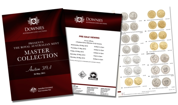 Royal Australian Mint Master Collection Catalogue