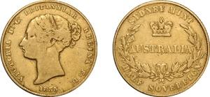 Lot 1073 - 1855 Sovereign Fine/gFine