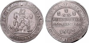 Lot 2683 - Charles I (1625-1649) Pound, Oxford Mint